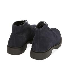 Polacchini blu in camoscio , Scarpe, 12C3T6056CMBLUE040, 004 preview