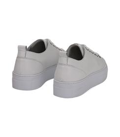 Sneakers bianco in pelle, Valerio 1966, 1577T0412PEBIAN036, 004 preview