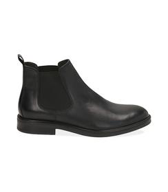 Chelsea boots neri in pelle di vitello, SALDI UOMO, 1677T0608VINERO039, 001 preview