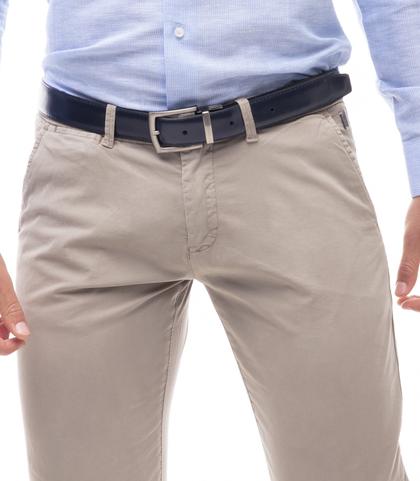 Pantaloni chino beige in cotone, Abbigliamento, 11G5T2071TSBEIG46, 002