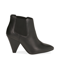 Chelsea boots neri in pelle di vitello , Valerio 1966, 12D6T3910VINERO036, 001 preview