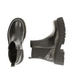 Ankle boots neri in pelle, tacco 5,5 cm , Valerio 1966, 1872T4422PENERO036, 003 preview