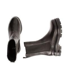 Chelsea boots neri in pelle, Valerio 1966, 1877T1309PENERO035, 003 preview