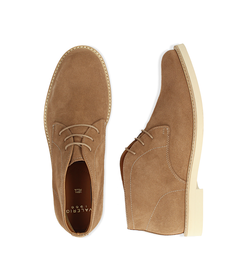 Desert boots taupe in camoscio , Valerio 1966, 1198T5847CMTAUP040, 003 preview