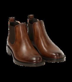 Chelsea boots testa di moro in pelle di vitello, SALDI UOMO, 1677T0608VIMORO040, 002 preview
