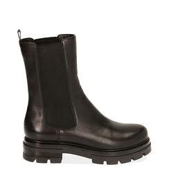 Chelsea boots neri in pelle, Valerio 1966, 1877T1309PENERO035, 001 preview