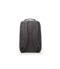 Zaino grigio in cotone e nylon, UOMO, 10H9T1602TSGRIGUNI, 002 preview