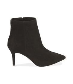 Ankle boots neri in camoscio , Valerio 1966, 12D6T8502CMNERO036, 001 preview