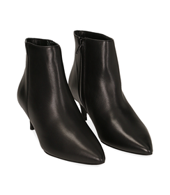 Ankle boots neri in pelle di vitello , Scarpe, 12D6T8402VINERO036, 002 preview