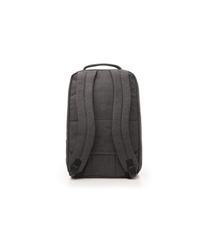 Zaino grigio in cotone e nylon, Accessori, 10H9T1602TSGRIGUNI, 002