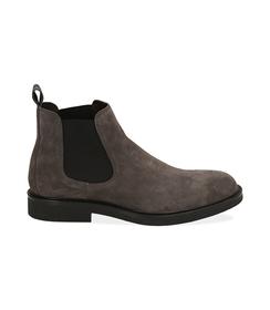 Chelsea boots grigi in camoscio , SALDI UOMO, 16D4T1123CMGRIG039, 001 preview