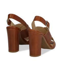 Sandali cuoio in pelle, SALDI, 11D6T1063VICUOI036, 004 preview