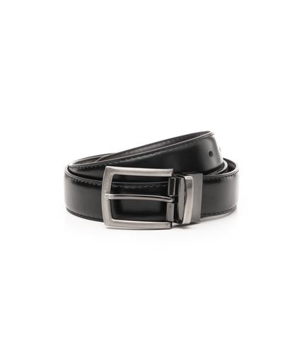 Cintura nera in eco-pelle, Accessori, 1064T6546EPNERO110, 001