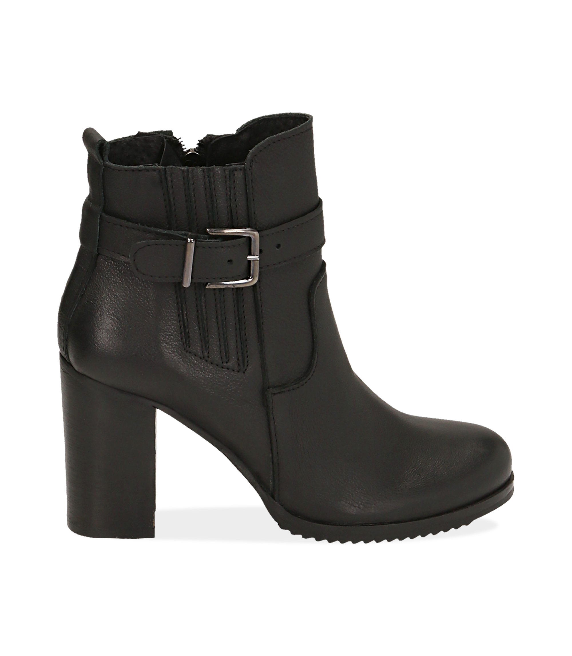 Ankle boots neroìi in pelle